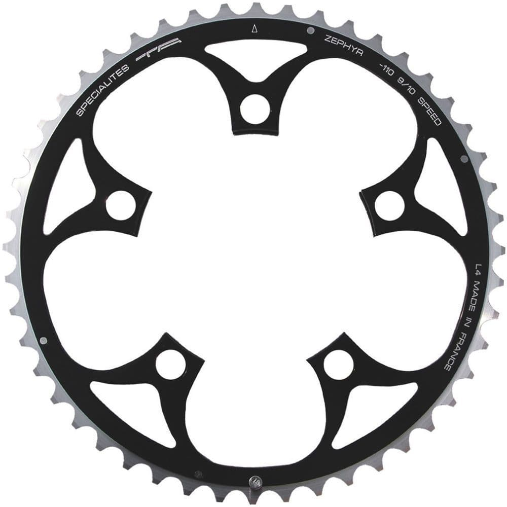 TA SPECIALITES ZEPHYR 53T 110mm. BCD - BLACK 9/10 Speed Outer