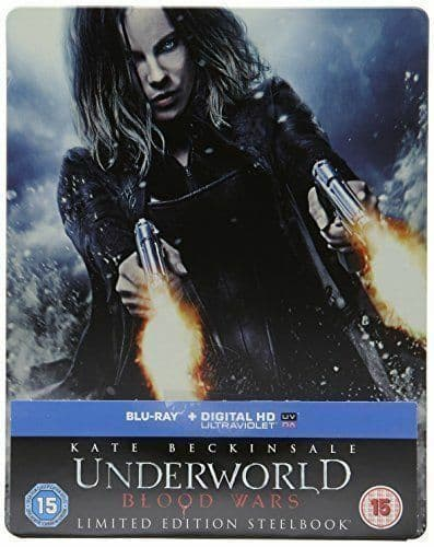 Underworld: Blood Wars Limited Editon Steel Book with UltraViolet Copy Blu-ray + Digital HD UV