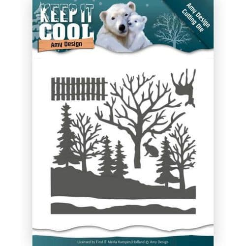 Amy Design Keep it Cool Cutting Die - Cool Forest - ADD10160