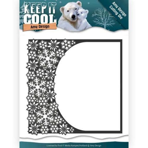 Amy Design Keep it Cool Cutting Die - Cool Rounded Frame - ADD10159