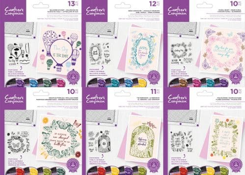 Crafter's Companion Aperture Photopolymer Stamp