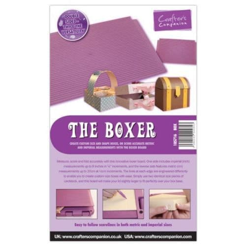 Crafter's Companion Ultimate Pro Embossing Board - The Boxer