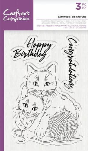 "Crafter's Companion - Unmounted Photopolymer Stamps - 3.7"" x 5.4"""