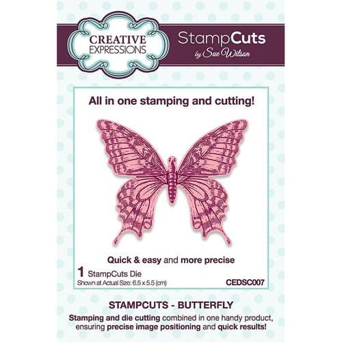 Creative Expressions Sue Wilson Butterfly StampCuts Die - CEDSC007
