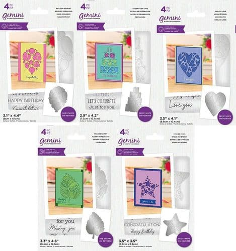 Gemini - Abstract Shape Create A Card Collection by Crafters Companion