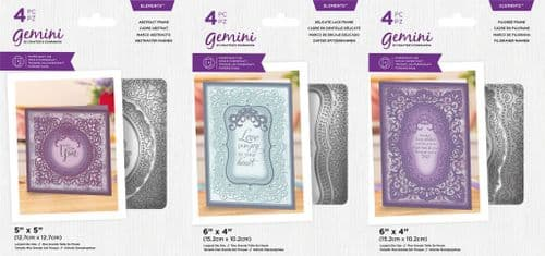 Gemini - Elements Nesting Frames Dies by Crafters Companion