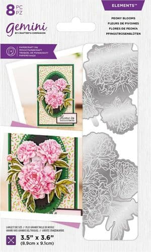Gemini - Floral Decoupage Peony Blooms Die by Crafter's Companion