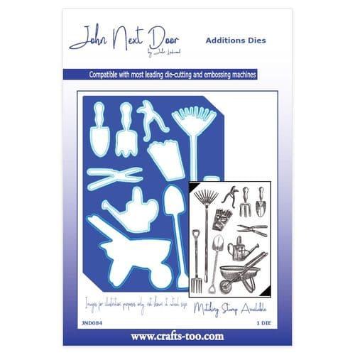 John Next Door Additions Dies - Garden Tools - JND084