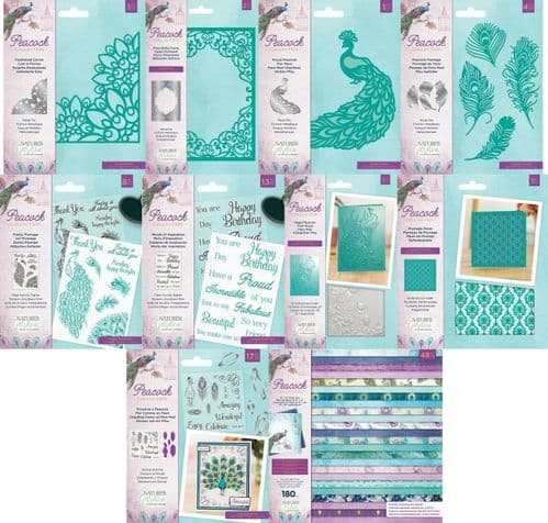 Nature's Garden - Peacock Collection by Crafter's Companion