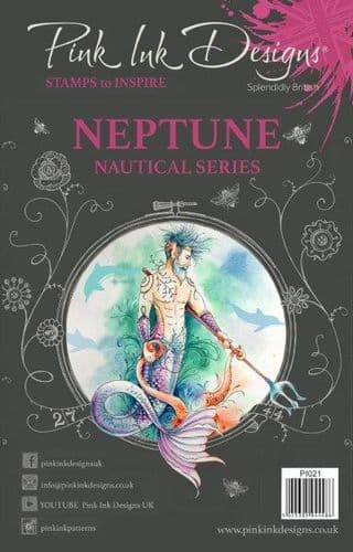 Pink Ink Designs Clear Stamp NEPTUNE - PI021