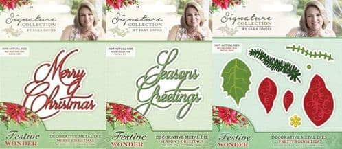 Sara Signature Collection - Festive Wonder Collection by Crafters Companion