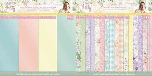 Sara Signature Collection - Garden Party Paper Collection by Crafter's Companion