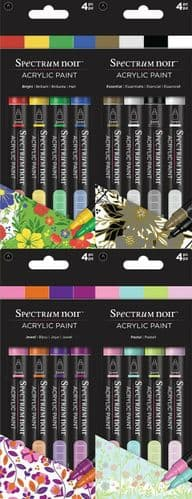 Spectrum Noir - Acrylic Paint Markers (4pc) by Crafters Companion