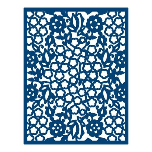 Tattered Lace - All Over Floral - D013