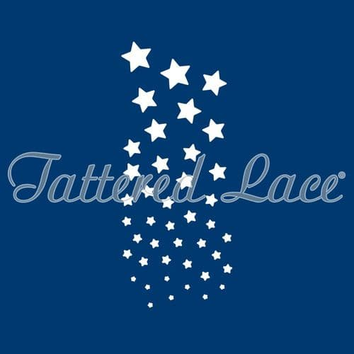 Tattered Lace - Cascading Stars TLD0068 - By Stephanie Weightman
