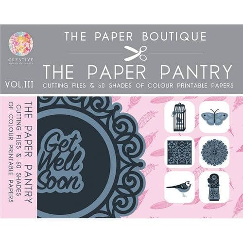 The Paper Boutique Paper Pantry Cutting Files Vol 3 USB Collection