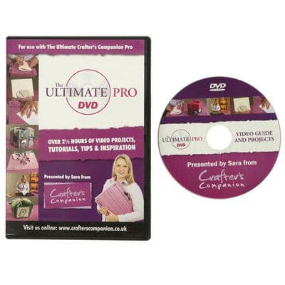 Ultimate Pro DVD by Crafter's Companion Video CD-ROM