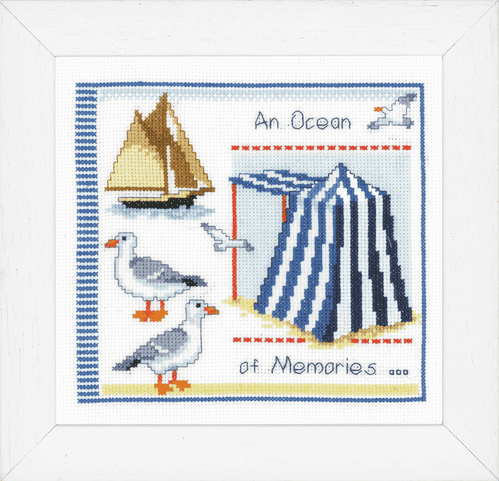 Vervaco Counted Cross Stitch Kit: An Ocean of Memories