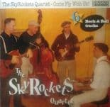 "10"" ✦ THE SKY ROCKETS QUARTET ✦ ""Come Fly With Us!"" (Fantastic Rockabilly Sound)"