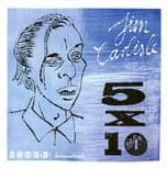"45 Ep ✦JIM CARLISLE✦ ""5x10"" Legendary Rockin' Guitar Man. Limited Edition.Hear♫"