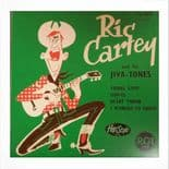 """45 EP ✦✦ RIC CARTEY & HIS JIVA-TONES ✦✦ """"Young Love""""-Fantastic French EP Reissue"""