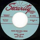 """45 Re ✦BUDDY MILLER✦ """"Rock And Roll Irene / I Got Me A Woman"""" Killer Twin Spin ♫"""