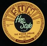 "45 Re✦DOCTOR ROSS✦""The Boogie Disease/Juke Box Boogie""-Killer Twin Spinner.Hear♫"