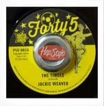 "45 RE ✦ JACKIE WEAVER ""The Tingle"" / TAWNY WILLIAMS ""Pretty Little Words ✦"