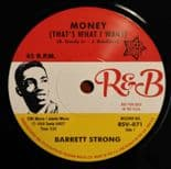 "45Re ✦ BARRETT STRONG ✦ ""Money / Misery"" Killer Midtempo R&B Classic ♫"