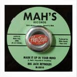 "45Re ✦ BIG JACK REYNOLDS ✦ ""Made It Up In Your Mind"" Fantastic Mambo Shuffle ♫"