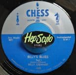"45Re ✦ BILLY STEWART ✦ ""Billy's Blues Part 1 & 2"" - Rare Tracks On Chess"