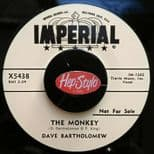 "45Re ✦ DAVE BARTHOLOMEW ✦""The Monkey / The Shufflin' Box"" Killer 50s R&B 2Sided♫"