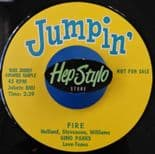 "45Re ✦ GINO PARKS ✦ ""Fire / For This I Thank You"" - Fabulous R&B dancer!!!"