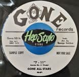 "45Re ✦ GONE ALL STARS ✦ ""The Gee Gee Walk / 7-11"" - Dirty R&B Sax Instros"