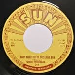 """45Re ✦ ONIE WHEELER ✦ """"Jump Right Out Of This Juke Box"""" Fantastic Country Bop ♫"""