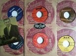 45Re✦RARE 50s ROCKABILLY LOT OF 6 REPROS✦ Fantastic Collector Unplayed Records!♫