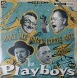 "45Rpm ✦THE PLAYBOYS✦ ""Make Me Dance Little Ant / Bluebird"" Fantastic Rockabilly♫"