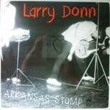 LARRY DONN - ARKANSAS STOMP RARE ROCKABILLY LIVE RECORDINGS ORANGE VINYL 10""