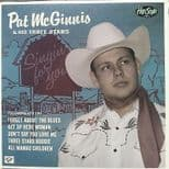 "PAT MCGINNIS 10"" -HOT MODERN ROCKABILLY CLUB HITS LISTEN!! PRIMITIVE WILD GUITAR"