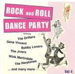 ROCK AND ROLL DANCE PARTY VOL 4 -  SUPERB 50s ROCK & ROLL COMPILATION CD