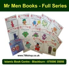 Islamic Mr Men Books ( Brother & Little Sisters Series ) SET