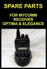 Spare parts for receivers ( mycomm optima & elegance ) radio salah Aerial, plugs
