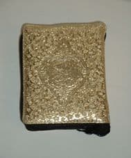 The Holy Quran Pocket Size (Golden Zip Case # 139)