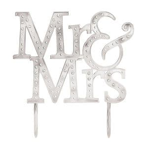 Amscan Cake Topper: Mr & Mrs