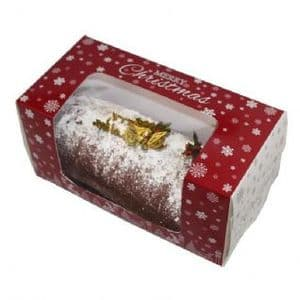 Christmas Yule Log Box 8