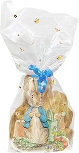 Creative Party Cello Bags with Twist Ties: Peter Rabbit (Pack of 20)