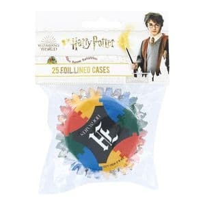 Foil Lined Cupcake Cases: Harry Potter