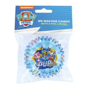 Foil Lined Cupcake Cases: Paw Patrol (pack of 25)