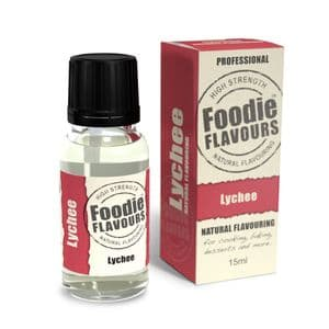 Foodie Flavours Natural Flavouring 15ml: Lychee B.B. Sept. 19