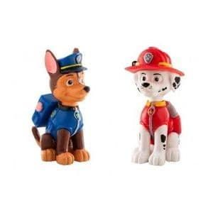 Licensed Paw Patrol Figures: Chase & Marshall (set of 2)